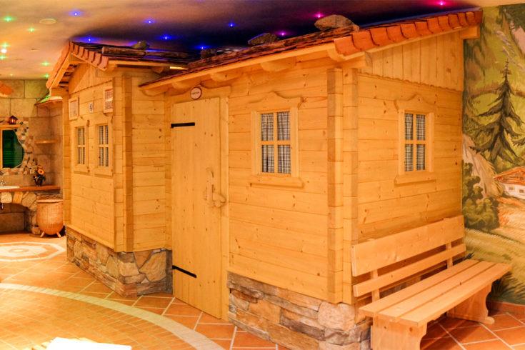 Alm-Wellness-Oase im Landhaus Maurer in Wagrain