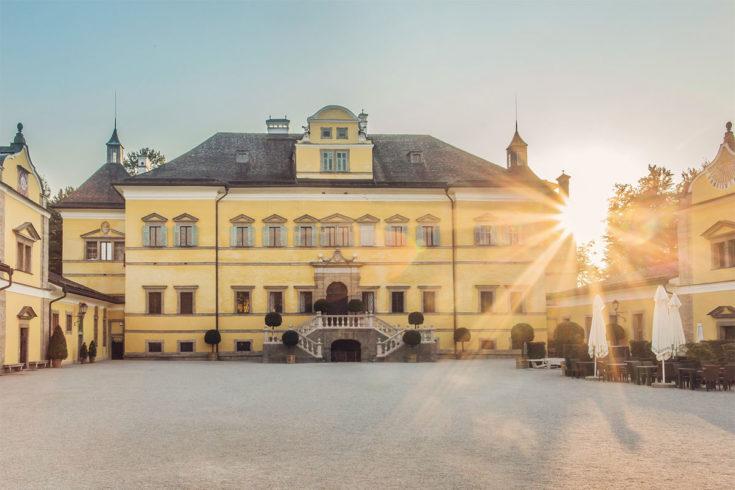 Ausflugsziel Schloss Hellbrunn