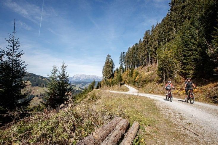 Biken Sommerurlaub Wagrain 1