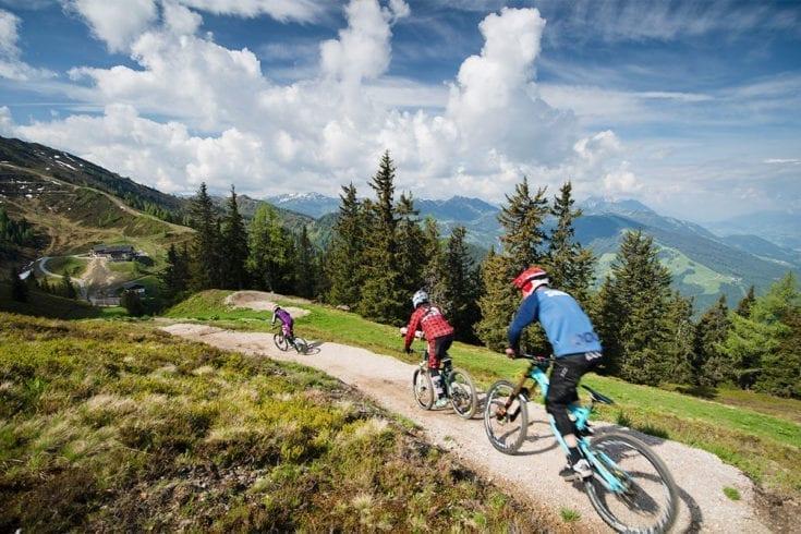Bikepark Sommerurlaub Wagrain 1