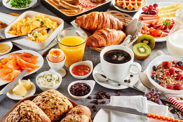Ferienwohnungen mit Frühstücksbuffet