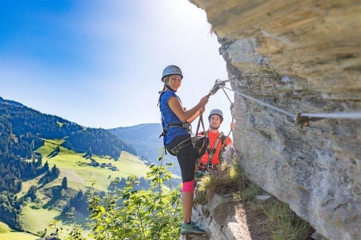 Klettern Sommerurlaub Wagrain 1