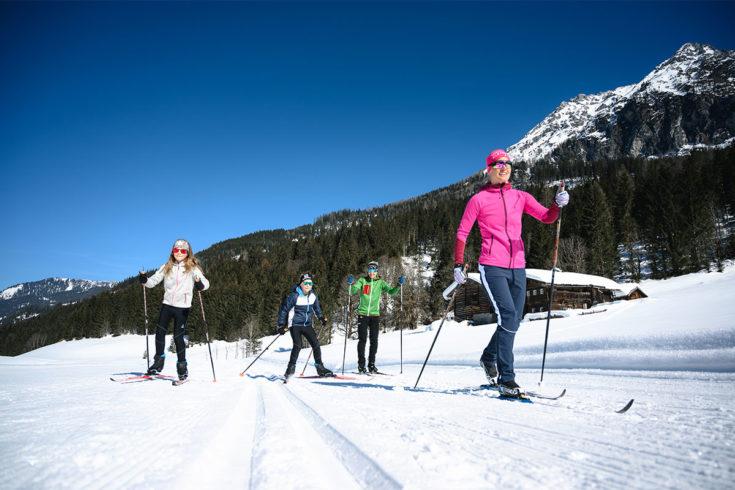 Langlaufen Winterurlaub Wagrain Kleinarl 1