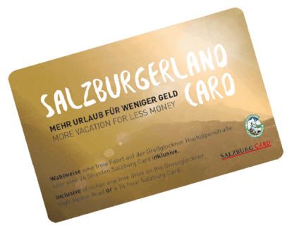 Salzburger Land Card 1