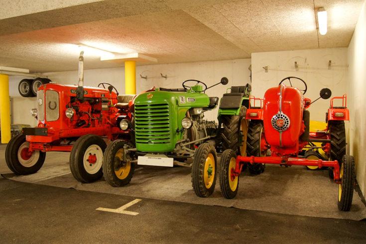 Oldtimer-Traktoren - Landhaus Maurer