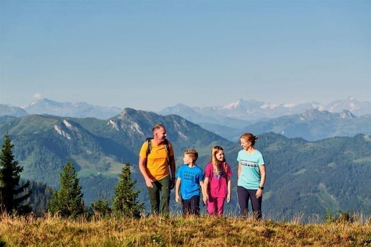Wandern - Sommerurlaub in Wagrain, Salzburger Land